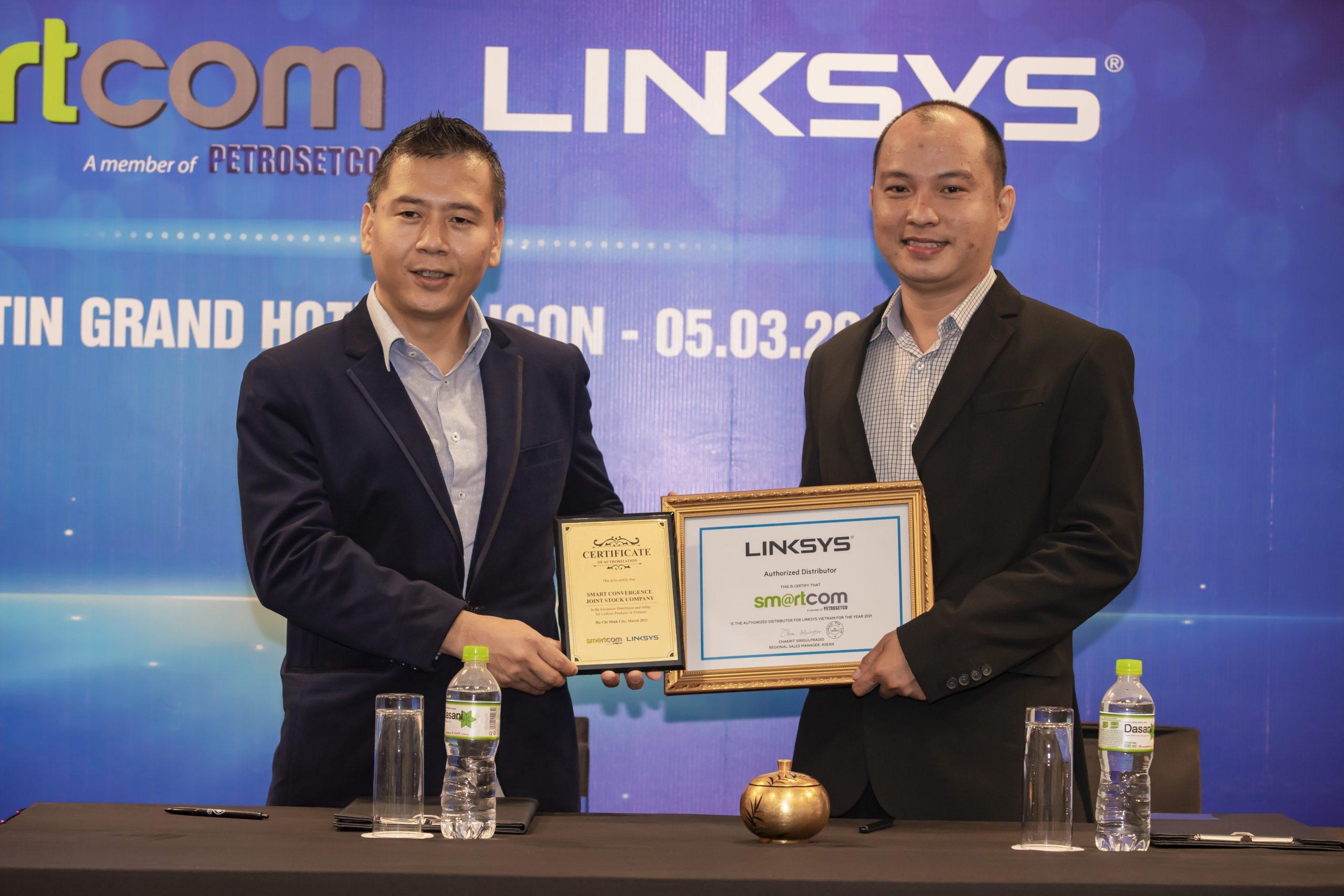 Smartcom trở thành nhà phân phối chính thức của Linksys